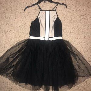 BCBG Generation tulle skirt dress